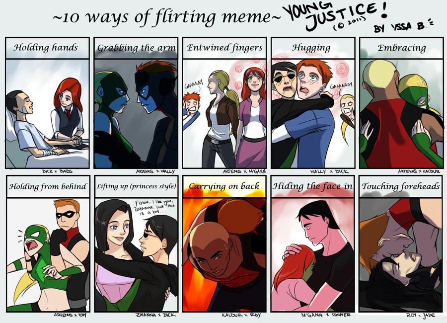 YJ: Flirting Meme.