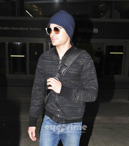 Zac Efron At Lax