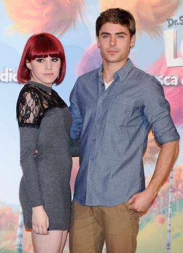 Zac Efron: 'Lorax' Foto Call in Madrid