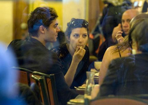 Zac Efron Roma New фото 2012