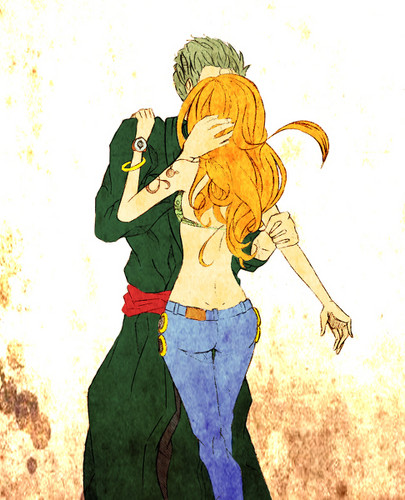 Zoro Nami in l'amour