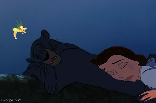 disney crossover achtergrond with anime entitled Zzzz