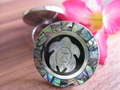 abalone seashell rings carving new style - jewelry photo