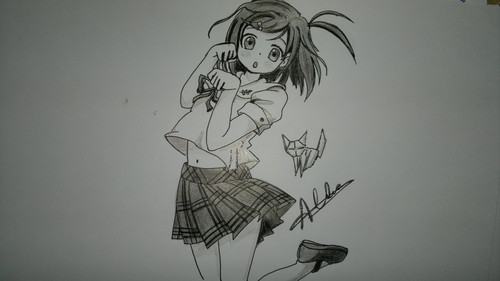Anime girl - fanart