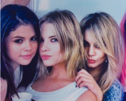 ashley with vanessa and selena