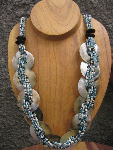 beading necklaces with mop seashell bead allseasonjewelry