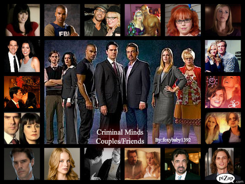 criminal Minds Couples made 由 me