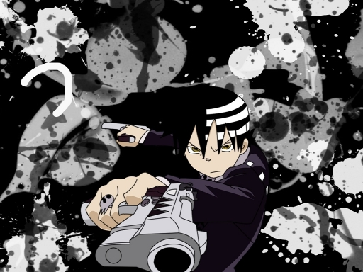 Soul Eater Death The Kid Rocks Images Wallpaper And Background Photos