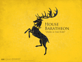 house Baratheon coat of arms - house-baratheon wallpaper