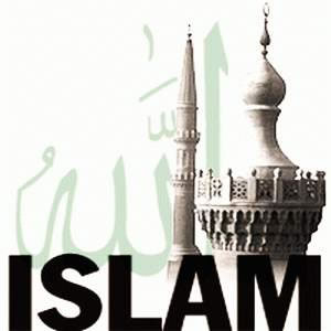 God-The creator Hintergrund titled islam2