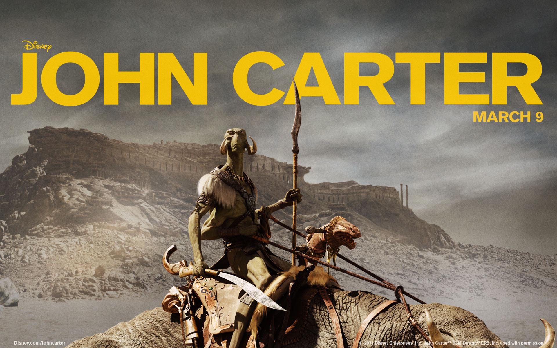 John Carter Wallpapers John Carter Movie 2012 Wallpaper 29693462 Fanpop