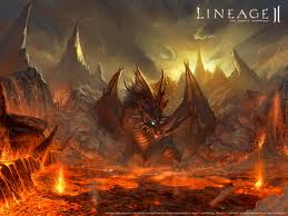 lava dragon - dragons Photo