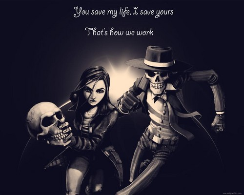 Skulduggery Pleasant wallpaper entitled lol