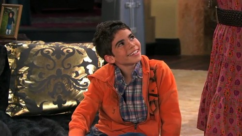 Jessie wallpaper possibly containing an outerwear, a street, and a well dressed person entitled luke ross/cameron boyce