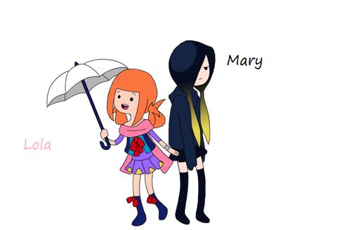 mary and lola