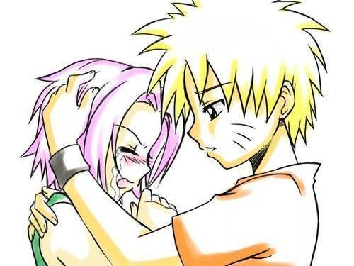 Naruto and sakura