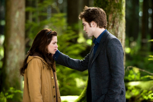 New Moon Movie wallpaper containing an outerwear entitled new moon <3