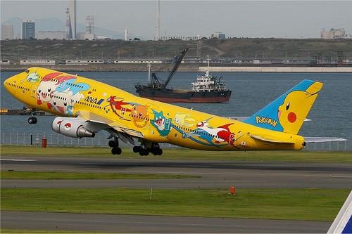Pokémon plane