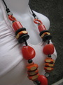 re cycling beads necklaces fashion accessories - jewelry photo