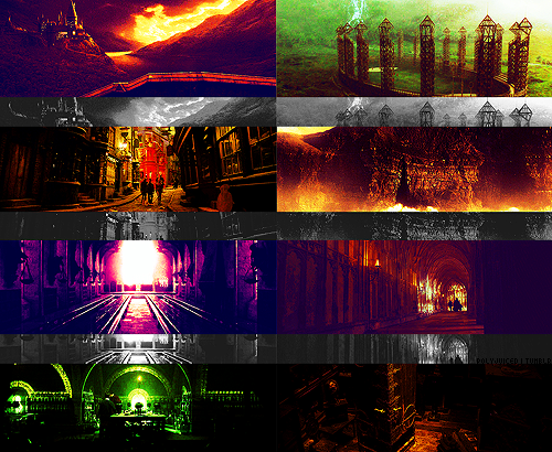 scenery → Harry Potter and the Half Blood Prince