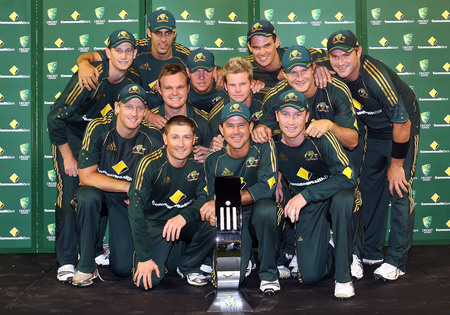the australian cricket team - The Australian Cricket Team Photo.