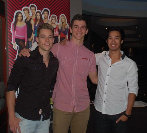 tim,thomas & jordan at the DA2 premiere