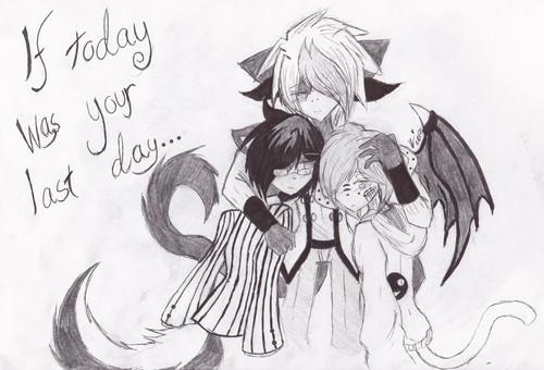 .:If today was your last day:.~ Kazuki, Jerome & Kureij