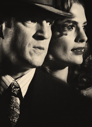 Castle & Beckett wallpaper containing a business suit and a fedora entitled ★ Love ★