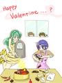 (Ranma 1/2 x Urusei Yatsura) Lum & Akane_ Valentine's araw Cooking Special