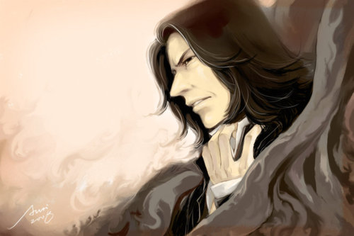 Severus Snape wallpaper probably with a portrait called ☆ Snape ☆