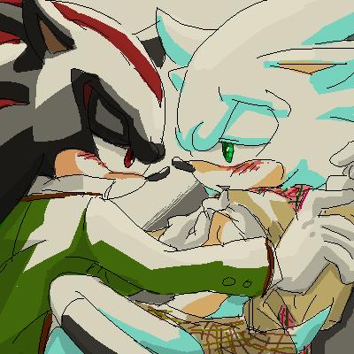 Sonic Yaoi karatasi la kupamba ukuta with anime entitled .:Sonadow:.~<3