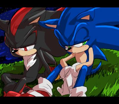 Sonic Yaoi karatasi la kupamba ukuta with anime called .:Sonadow:.~<3