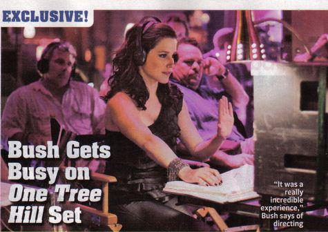 ★ Sophia directing 9x12 One Tree Hill ★ - sophia-bush Photo