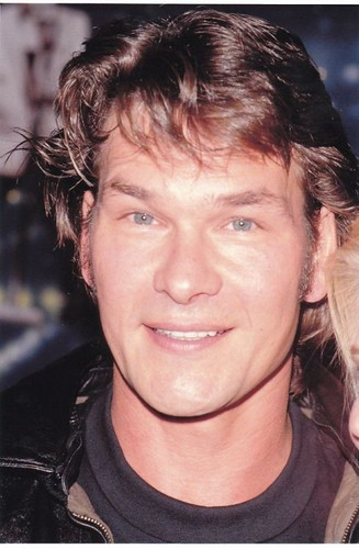 Patrick Swayze wallpaper probably with a portrait titled :)