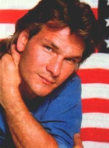 Patrick Swayze wallpaper with a portrait titled :)