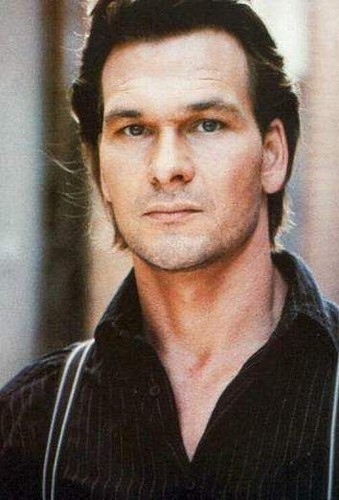 Patrick Swayze wallpaper containing a portrait entitled :)
