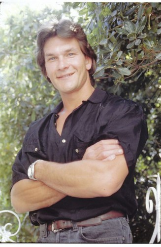 Patrick Swayze wallpaper possibly containing a live oak, a mahogany, and a beech entitled :)