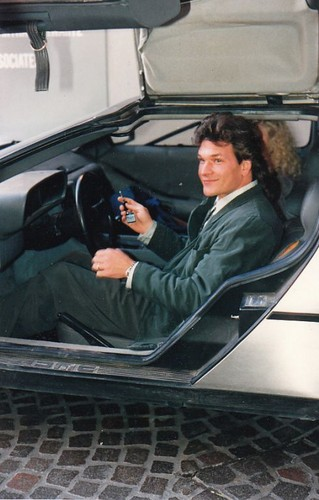 Patrick Swayze wallpaper containing an automobile called :)