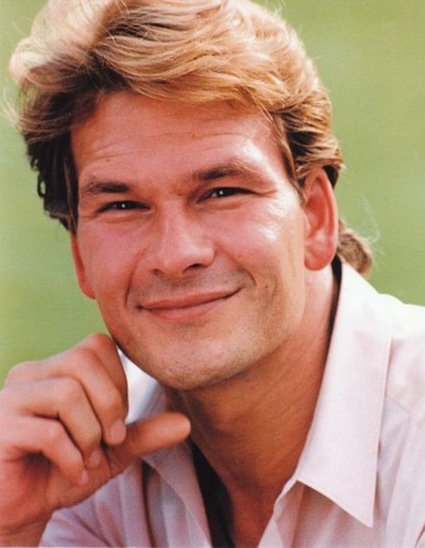 Patrick Swayze wallpaper containing a portrait called :)