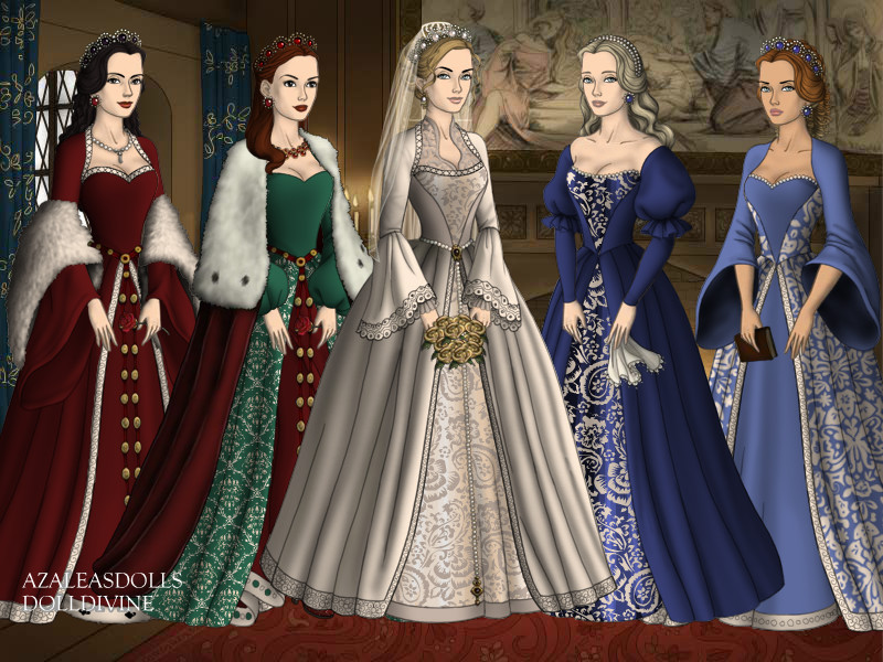 Tudor Women Fashion