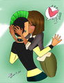 1st kiss &lt;3 - duncan-and-courtney photo
