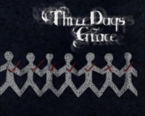 Three Days Grace kertas dinding entitled 3 days grace