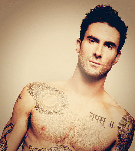 Adam Levine wallpaper probably with skin titled Adam
