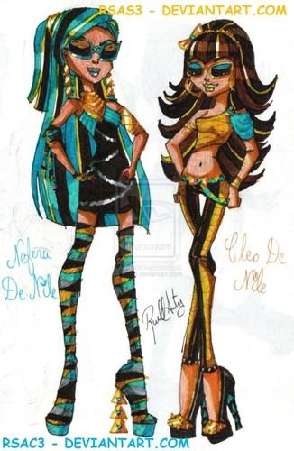Amazing Nefera and Cleo