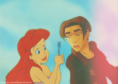 Ariel/Jim - disney-crossover Photo
