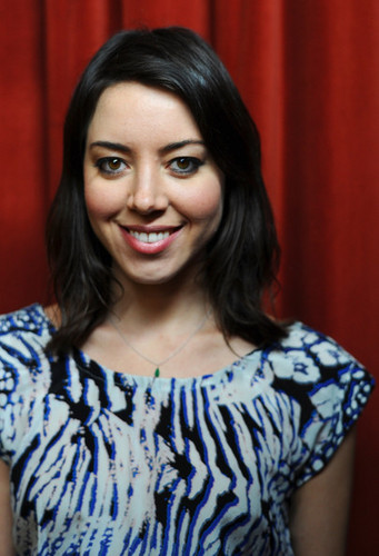 "Aubrey Plaza - ""Safety Not Guaranteed"" Greenroom foto Op - SXSW 2012"