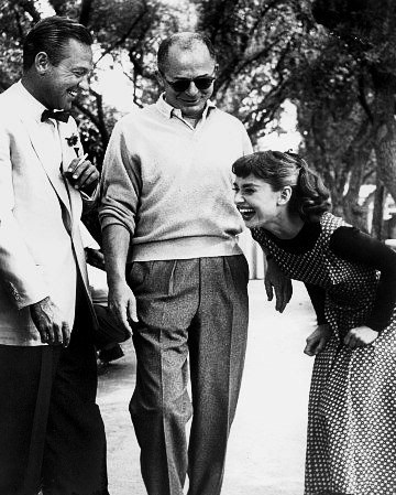 Audrey and William Holden - audrey-hepburn Photo