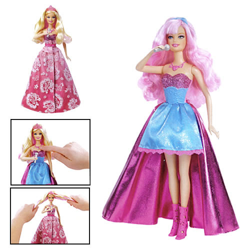 Barbie the Princess and the Popstar doll Tori - barbie-movies photo
