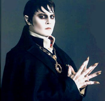 Tim Burton's Dark Shadows wallpaper probably with a cloak called Barnabas Collins