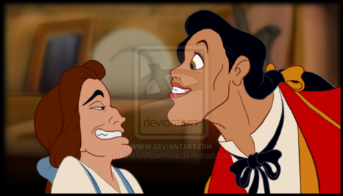 Belle and Gaston's Faceswap